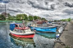 Fischie (The Nature Guy) Tags: sea plant tree water germany coast boat warnemünde nikon meer waterfront harbour vehicles filters rostock küste ndgradfilter d7000 nikkor1024f3545gdxed