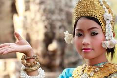 Faces of Bayon (craigkass) Tags: travel asia cambodia southeastasia khmer religion buddhism angkorwat angkor hinduism angkorthom asianwoman