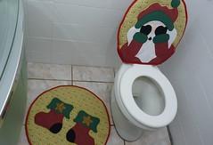 P1020180 (Monne Arts) Tags: natal de bonito artesanato capa noel lindo festa decorao jogo banheiro mamae papai tecido colorido algodo enfeite proteo festivo natalino