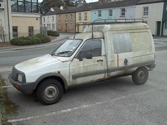 Citroen rusty c15 dirty van 1994 mould reg heap registration cornish