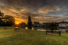 274/366 Doctors Pond Sunrise (Mark Seton) Tags: sunrise photo places essex dailyphoto pictureaday wwh greatdunmow dunmow dailyphotograph uttlesford project365274 doctorspond project365300912