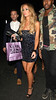 Lauren Pope leaves Nobu Berkeley restaurant London, England