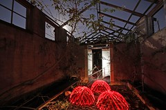 Bath house Hexham (therealpetesmith) Tags: lightpainting abcopen:project=nat2