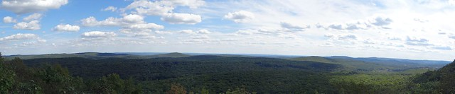 View from Hawkwatch - Farny State Park, NJ