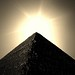 "Sun Over Pyramid sepia • <a style=""font-size:0.8em;"" href=""http://www.flickr.com/photos/35150094@N04/8045325647/"" target=""_blank"">View on Flickr</a>"