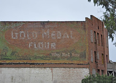 Guadalupe, Ca. (RickWarrenPhotos) Tags: california old usa building history classic vintage roadtrip historic pch guadalupe oldbuilding patina ghostsign pacificcoasthighway oldsigns vintagesigns californiahighway1 roadsideart oldbrickbuilding