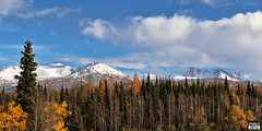 Winter is on the way (lewisangle) Tags: autumn mountains fall alaska anchorage chugach servicehigh