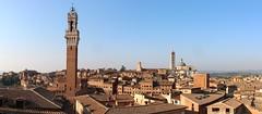 Panoramica (Il Tesoro di Siena) Tags: siena duomo torredelmangia