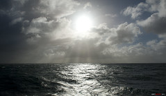 The earth is a watery place.... (bent inge) Tags: ocean sea sky sun norway clouds norge northsea circulation rogaland mygearandme bentingeask askphoto