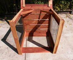 "1-Bin Redwood Compost Bin - panels off • <a style=""font-size:0.8em;"" href=""https://www.flickr.com/photos/87478652@N08/8049149549/"" target=""_blank"">View on Flickr</a>"