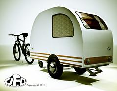 UrbanFreedomOutlanderMiniCamperHQsample17_LomoWithBike_DOFBlogPromo (Zentai_Guy) Tags: camping urban bike freedom cool hipster funky mini ufo cycle hippie trailer caravan hip camper outlander