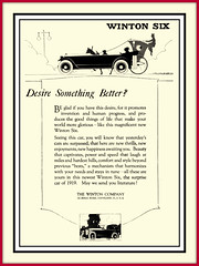 1919  'Desire Something Better'   The Winton Six   The Winton Company, Cleveland , Ohio (carlylehold) Tags: ohio mobile o cleveland smartphone haefner carlylehold solavei