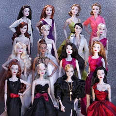 16 Angry Dolls (Suburban Tabby) Tags: club silver festive glamour estate head royal vivid valentine dressing m concerto collection part wicked impact agnes truly drama fashiondoll firefly royalty regal decadence verve baroness optic posie madly deeply zinger enchante fashionroyalty integritytoys enchantee agnesvonweiss
