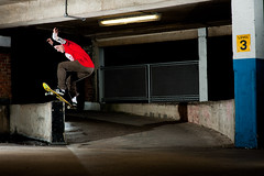 MAT_2658-Edit.jpg (Cherryrig) Tags: park car night nikon skateboarding wizard f14 flash 85mm skate gloucester skateboard pocket fx carpark quantum t2 pw sb800 lumedyne pocketwizard nikon85mmf14d qflash d700 cherryrig 400ws p2xx