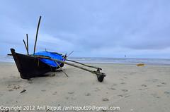 Goa_Year 2012-02 (Anil_R) Tags: blue india beach boat sand nikon cloudy goa monsoon clubmahindra 1424 varcabeach 1424mm 1424mmf28g 1424mmf28 nikon1424mmf28g nikond7000