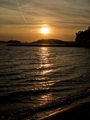 Autumn Sunset 2 (pvanhala) Tags: autumn sunset sea sky sun nature pvanhala