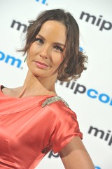 MIPCOM 2012 Red Carpet: Sarah Wayne Callies, The Walking Dead (mipmarkets) Tags: red france stars carpet cannes mipcom redcarpet 2012 mipcom2012