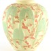 169. Phoenix Custard Glass Love Birds Vase