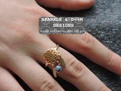 Ring.DC.02 (zreekee) Tags: sparkledoomdesigns gemstone dreamccatcher ring handmade