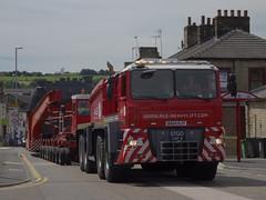 Ale Heavy Lift  Goole to Leeds Kirkstall BX64 KJY (munden.chris) Tags: leeds ale load goole heavylift heavyhaulage abnormalloadengineering bx64kjy