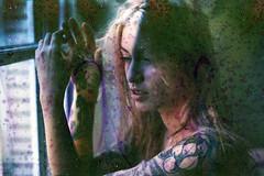 film (La fille renne) Tags: film analog 35mm lafillerenne minoltasrt303b 50mmf18 fujifilm fujisuperiaxtra400 expired expiredfilm soup filmsoup portrait woman model tattoo ink blueregard louiseblueregard