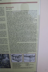Palestrina (Praeneste) tomb descriptions from the NEcropolis (kjn1961) Tags: praeneste palestrina fortuna primigenia fortunaprimigenia 2016italy