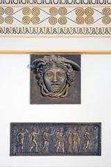 Reliefs dans le vestibule de la villa Stuck (Munich) (dalbera) Tags: villastuck munich allemagne dalbera jugendstil symbolisme franzvonstuck muse mduse
