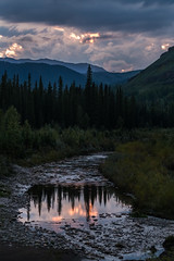 Sunset in the Foothills (murph le) Tags: sunset foothills alberta canada canon6d evening reflections water