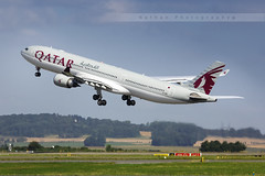 CDG - Airbus A330-302 (A7-AEI) Qatar Airways (Aro'Passion) Tags: cdg lfpg photography photos paris parisroissycharlesdegaulle dcollage takeoff variopositif monteinitiale departing 60d canon natw aropassion airport airbus aircraft airways qatar a7aei