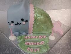 Mermaid Cat (dragosisters) Tags: green pink cake cat mermaid