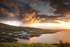 InishTurk Sunrise (Ger208k) Tags: ireland inishturk mayo island sunrise morninglight village harbour ferry clouds gerardmcgrath