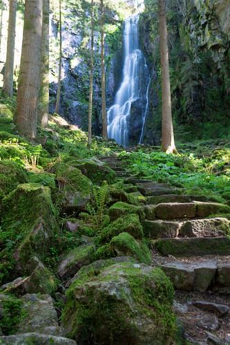 Cascade Burgbach à Bad Rippoldsau