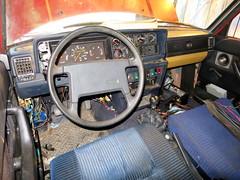 IMG_4013 (rat_fink) Tags: volvo 200 240 242 242dl interior steeringwheel dash dashboard gauges seat