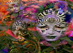 .. human plant species .. (xandram) Tags: models plants texturesmyown manipulation photoshop future