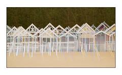 Beach huts (Zwaireem) Tags: beach huts k3 multipleexposure sea seaside