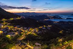 九份山城 (Wi 視覺) Tags: taiwan taipei sky cloud city 台灣基隆 台灣 基隆 天空 天際線 雲
