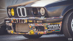 bmw e30 sticker bomb drift car (dimitarkrastev1) Tags: bmw e30 stickerbomb drift car