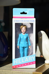 Hillary Clinton Ready for Action (thoth1618) Tags: ny nyc newyork newyorkcity northslope slope brooklyn hillary clinton hillaryclinton doll figure toy ready for action box plastic fctry ages3 photooftheday