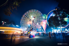 Show off (anderswotzke) Tags: royaladelaideshow adelaide southaustralia fair merrygoround ferriswheel fireworks longexposure showgrounds wayville carnival night outdoors colour neon anderswotzke sony a7rii