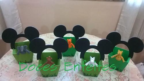 Festa Mickey Safari (lembrancinhas)