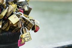 Cadenas des amoureux (Maloulaloutre) Tags: cadenas pont des arts paris amour amoureux