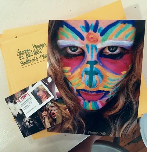Goddess KRING mailed primal prints