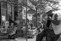 Harlem, Manhattan, New York, USA (takasphoto.com) Tags: africanamerican america bw blackwhite blackandwhite blancoynegro color eeuu eastcoast estadosunidos gentrification greatmigration harlem manhattan manhattanisland monochrome ny newyork newyorkcity noiretblanc northamerica nuevayork photography poverty schwarzweisfotografie street streetphotography usa unitedstates unitedstatesofamerica