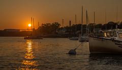 Portsmouth NH - sunset (jamesmerecki) Tags: sunset sunsetting sundown portsmouth nh new hampshire piscataqua river