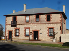 Goolwa. The former Australasian Hotel built in 1857and closed in 1934 (denisbin) Tags: goolwa hotel pub australasianhotel australasian limestone heritage history rivermurray port
