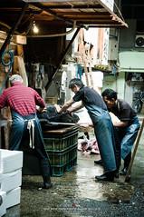 Tsukiji Fish Market (Pop_narute) Tags: tsukiji fishmarket market tokyo japan people maguro fish tuna