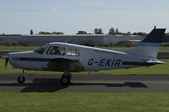 11/09/16 - Piper PA-28-161 (Cadet) - G-EKIR (gbadger1) Tags: egbw wellesbourne mountford airfield matters september 2016 sunday 11 eleven eleventh piper pa 28 161 cadet gekir