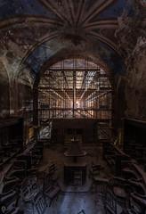 dark church (Jens D) Tags: church urbex urban forgotten old exploring exposure decay beautiful
