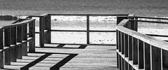 Catwalk 9 (Marcel Weichert) Tags: algarve alvor bw beach europe footbridge portugal summer faro pt