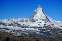 Matterhorn in Switzerland (` Toshio ') Tags: toshio matterhorn swissalps switzerland swiss suisse europe european mountains alps fujixe2 xe2 gornergrat